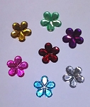 Flower Rhinestones Assorted Colors