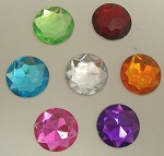 Round Rhinestones Assorted