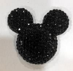 Mouse Rhinestone-30mm Size Large 2/$1