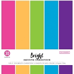 Cardstock-12x12  Smooth Bright  (30 sheets)