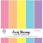 Cardstock-12x12 Smooth Fresh Blossoms Pastels (30 sheets)
