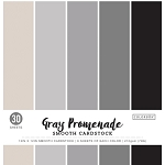 Cardstock-12x12 Smooth Gray Promenade (30 sheets)