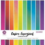 Cardstock-12x12 Ombre Energized  (30 sheets)
