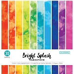 Cardstock-12x12 Bright Splash  (30 sheets)