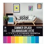 Cardstock-12x12 Textured Summer Splash  (30 sheets)