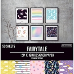 Designer Paper Pad- Fairy Tale 12x12 (50 sheets-single sided)