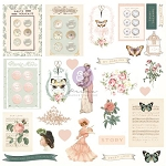 Prima- My Sweet Collection Ephemera 27 pcs