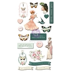 Prima- My Sweet Collection Puffy Stickers 20pcs