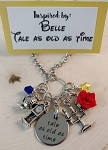 Character inspired necklace  *Tale as Old as Time**
