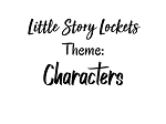 Little Story Locket-Charms-Characters