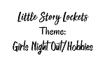 Little Story Locket-Charms-Girls Night Out & Hobbies