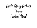 Little Story Locket-Locket/Charms/Chain Deal!