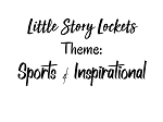 Little Story Locket-Charms-Sports & Inspirational