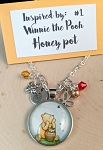 2020 NEW!  Character inspired necklace  **Favorite Bear-Honey Pot**
