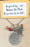 2020 NEW!  Character inspired necklace  **Favorite Bear-Quote 100-1**