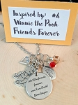 2020 NEW!  Character inspired necklace  **Favorite Bear--We'll be friends forever**