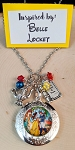 2020 NEW!  Character inspired necklace  **Princess in Yellow-Locket**