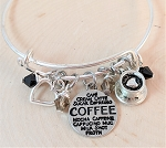 Adjustable Bracelet- Coffee