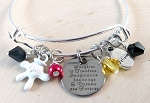 Character Mouse inspired bracelet  **Laughter is Timeless...**
