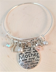 Adjustable Bracelet-Mother   **Great gift for Mothers Day**