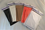 A6 Card & Envelope Set - Pack of 6/5 Colors