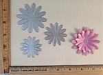 Scrapbooking Die- Simple Daisy Flower {set of 3}