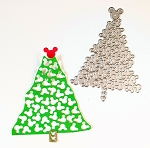 Scrapbooking die-Christmas Tree-Mouse heads