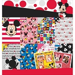 Ek Success-Disney Mickey Mouse & Friends Paper Pack (36 sheets)
