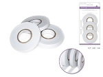 Foam mounting tape rolls-3 sizes in 1 pack  (1/4