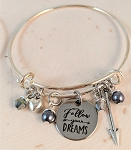 Adjustable Bracelet-Follow your Dreams