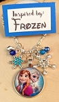 2020 NEW!  Character inspired necklace  **Frozen Girls**