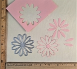 Scrapbooking Die- Daisy Flower Head {open flower}