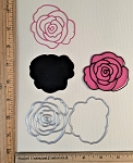 Scrapbooking Die- Large Rose Head