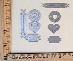 Scrapbooking Die- Handmade/Made w/ Love/Original Handmade/Original Design