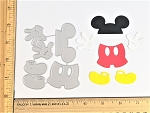 Scrapbooking Die-Hands/Pants/Shoes/Mouse Ears