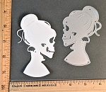 Scrapbooking Die-Woman Skeleton