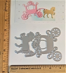 Scrapbooking Die-Horse & Carriage