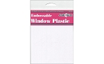 Embossable Window Plastic-Great for shaker cards