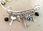 Adjustable Bracelet-Keys
