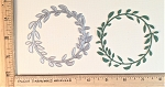 Scrapbooking Die-Simple Leaf Wreath