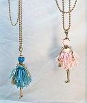 Necklace-Lovely Ladies --Beaded Dresses