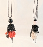 Necklace-Lovely Ladies --Flapper beaded dress