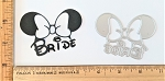 Scrapbooking Die-Mouse Head Bride {2 choices}