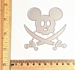 Scrapbooking Die-Mouse Head Pirate