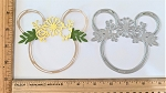 Scrapbooking Die-Mouse Head Spring Wreath