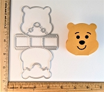 Scrapbooking Die-Bear Head Box