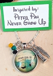 2020 NEW!  Character inspired necklace  **Never Grow Up**