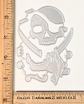 Scrapbooking Die-Pirate
