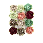 Prima Flowers- Pretty Mosaic Flowers-Peridot