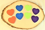 Sanding Pads-Hearts  Pack of 2